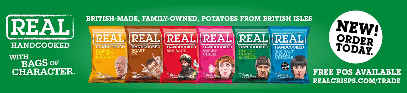 Real Hand cooked Crisps