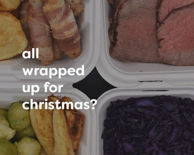 Christmas - all wrapped up & ready to takeaway