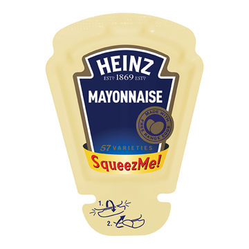 Picture of Heinz SqueezMe! Mayonnaise (100x26ml)