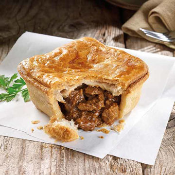 Picture of Steak & Ale Square Pies (12x268g)