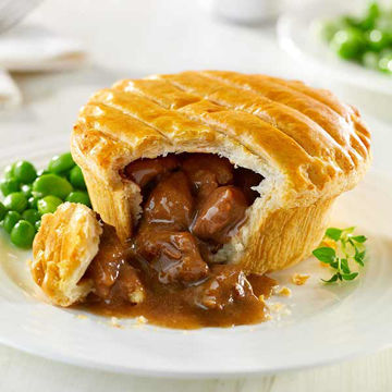 Picture of Baked Steak & Kidney Pies (12x230g)