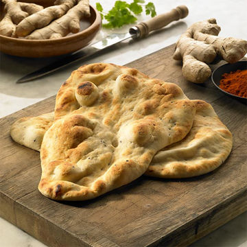 Picture of Large Plain Naan Bread (24x130g)