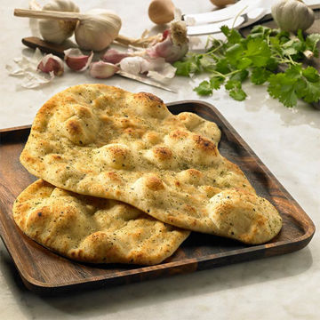 Picture of Large Garlic & Coriander Naan (24x130g)