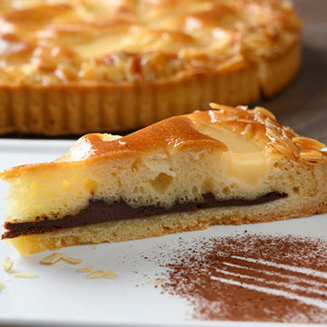 Picture of Pear, Chocolate & Almond Tart (14p/ptn)