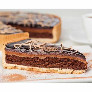 Picture of Millionaires's Choc Brownie Tart (14ptn)