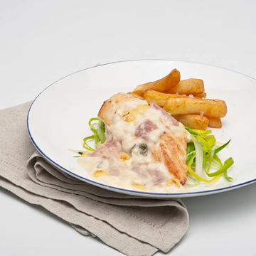 Picture of Chicken with Ham, Cheese & Leek (12x320g)