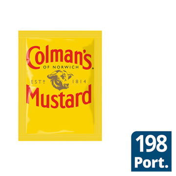 Picture of Colmans English Mustard Sachets (198x7ml)