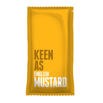 Picture of English Mustard Sachets (198)
