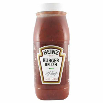 Picture of Heinz Burger Relish (2x2.15L)