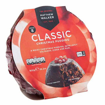 Picture of Classic Christmas Puddings (6x800g)