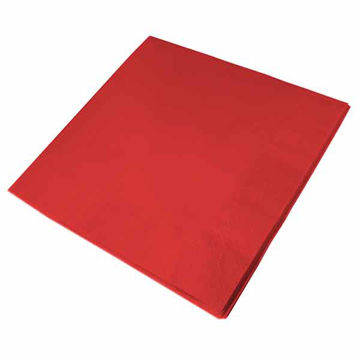 Picture of 40cm/3 Ply Red Napkins (10x100)