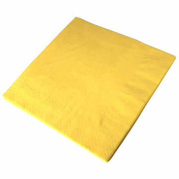 Picture of 40cm/3 Ply Yellow Napkins (10x100)