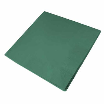 Picture of 40cm/3 Ply Green Napkins (10x100)