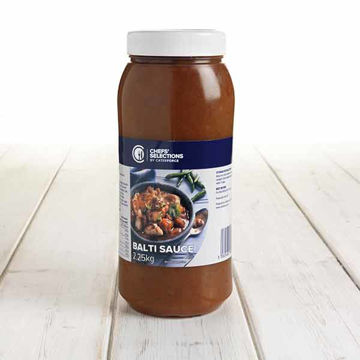 Picture of Chef's Speciality Balti Cooking Sauce (2x2.25kg)