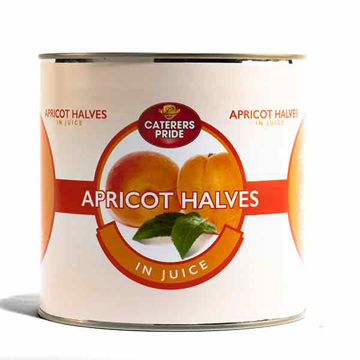 Picture of Apricot Halves in Juice (6x2.65kg)