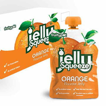 Picture of Orange Flavour Jelly Squeeze (16x95g)
