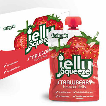 Picture of Strawberry Flavour Jelly Squeeze (16x95g)