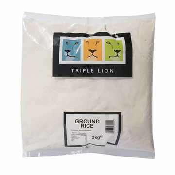 Picture of Triple Lion Ground Rice (4x3kg)