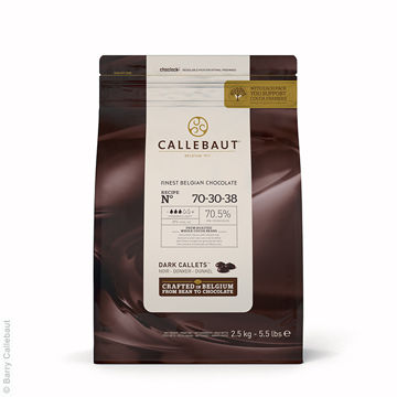 Picture of Bitter Dark Chocolate Callets (8x2.5kg)