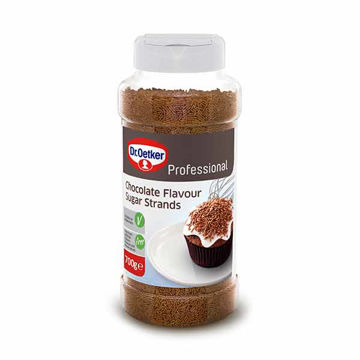 Picture of Chocolate Flavour Sugar Strands (6x700g)