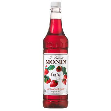 Picture of Monin Strawberry Syrup (4x1L)