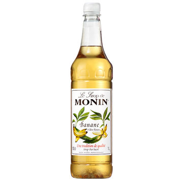 Picture of Monin Yellow Banana Syrup (4x1L)