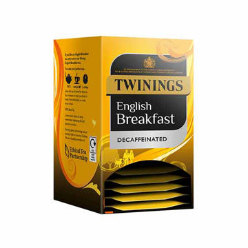 Picture of Decaff English Breakfast Tea Bags (4x20)