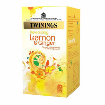 Picture of Lemon & Ginger Infusion Tea Bags (12x20)