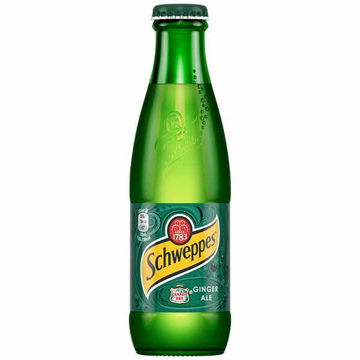 Picture of Schweppes Canada Dry Ginger Ale (24x200ml)