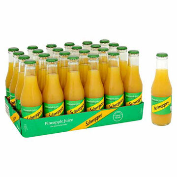 Picture of Schweppes Pineapple Juice (24x200ml)