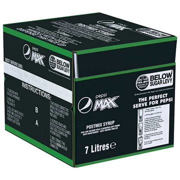 Picture of Pepsi Max Post Mix (1x7ltr)