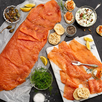 Picture of Smoked Salmon L-Cut (50x200g)