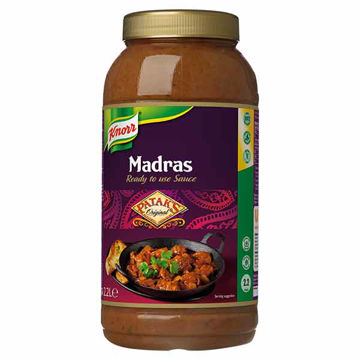 Picture of Patak's Madras Sauce (2x2.2L)