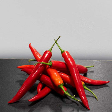Picture of Red Chillies (250g Wgt)
