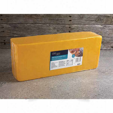 Picture of Mild Coloured Cheddar (4x5kg)