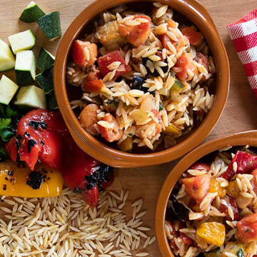 Picture of Zorba Orzo with Mediterranean Vegetables (8x1.25kg)
