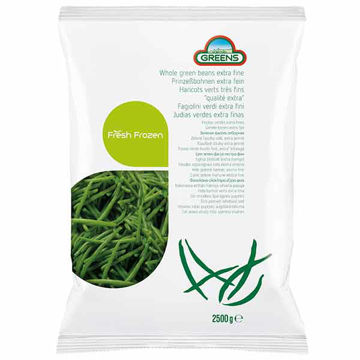 Picture of Extra Fine Whole Green Beans (4x2.5kg)