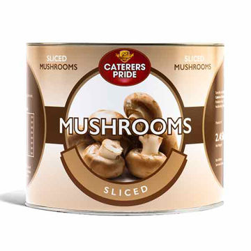 Picture of Sliced Mushrooms (6x2.45kg)