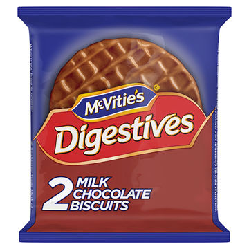 Picture of Milk Chocolate Digestive Biscuits (24 x2 pack)