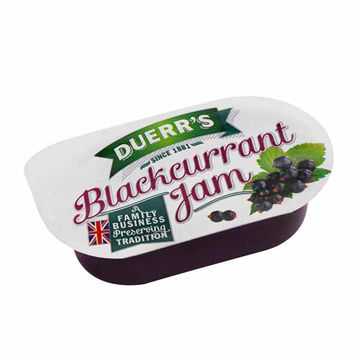 Picture of Blackcurrant Jam Portions (96x20g)