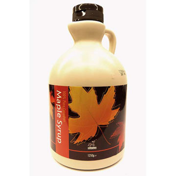 Picture of 100% Pure Maple Syrup (12x1.25kg)