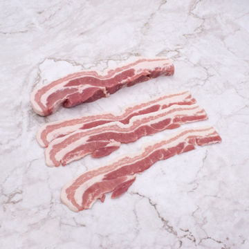 Picture of Bacon - Sliced Streaky, Unsmoked (2.27kg)