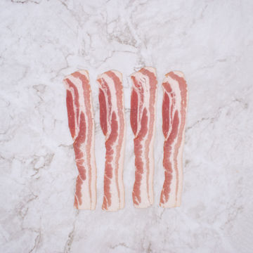 Picture of Bacon - Sliced Streaky, Smoked (2.27kg)