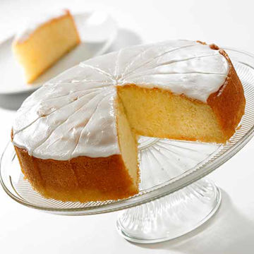 Picture of Iced Lemon Drizzle Cake (14p/ptn)