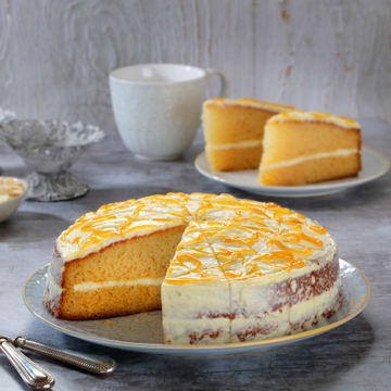Picture of Almond & Apricot Cake (14 p/ptn)