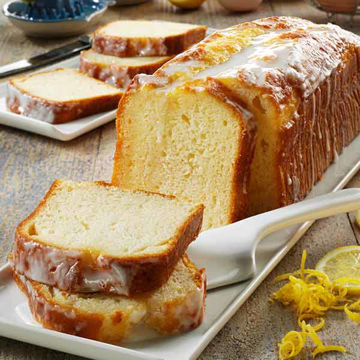 Picture of Lemon Drizzle Loaf Cake (19p/ptn)
