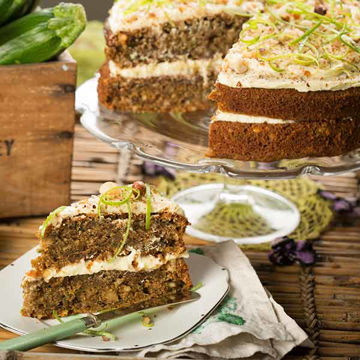Picture of Courgette & Lime Cake (GF) (14p/ptn)