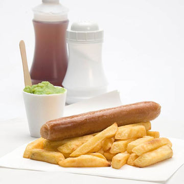 Picture of Catering Supreme Pork Sausages 4s (4.536kg)