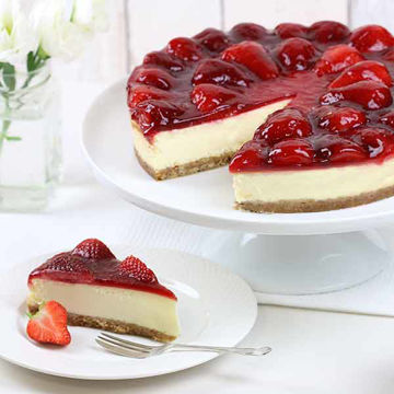 Picture of Luxury Strawberry Cheesecake (GF) (12p/ptn)