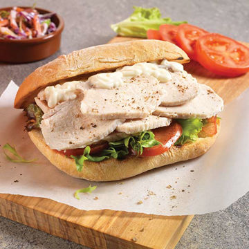 Picture of Steam Cooked Sliced Chicken 5mm (4x2.5kg)